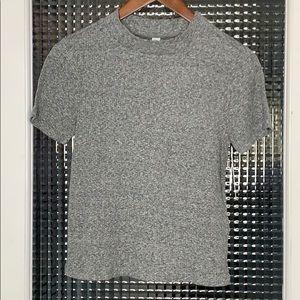 NEW BP Mock Neck Short Sleeve T-shirt XS